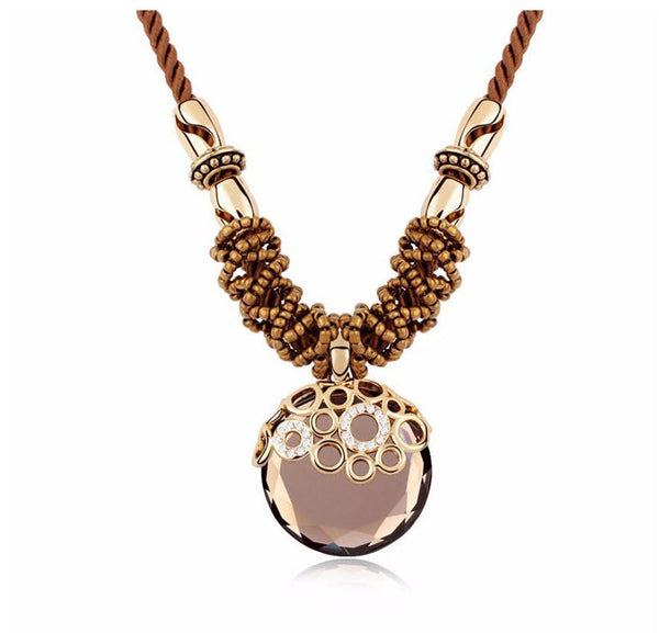 Retro Vintage Pendant Necklace