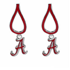 Alabama Crimson Tide Teardrop Earrings