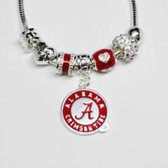 Alabama Crimson Tide Bling Necklace