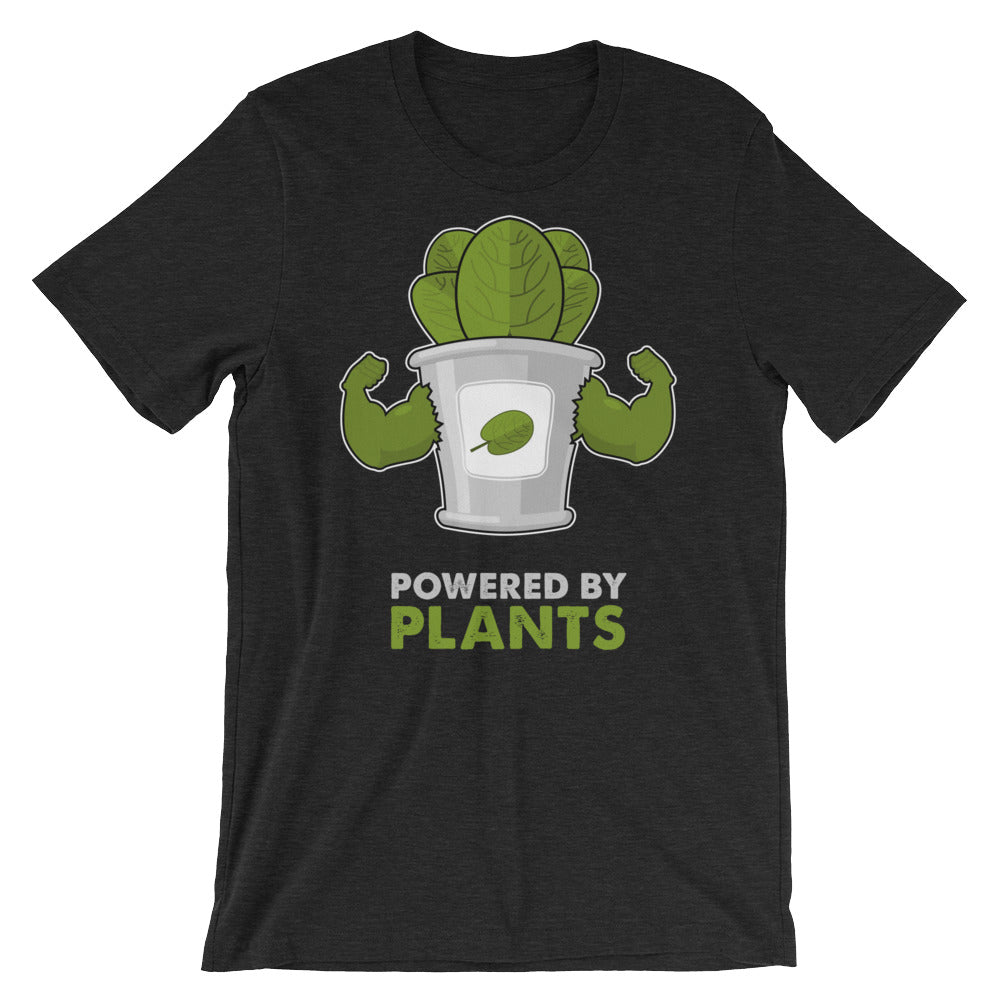 Powered by Plants (Unisex Shirt)