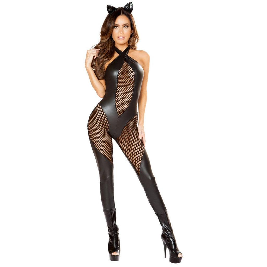 Naughty Kitty Catsuit Cat Costume