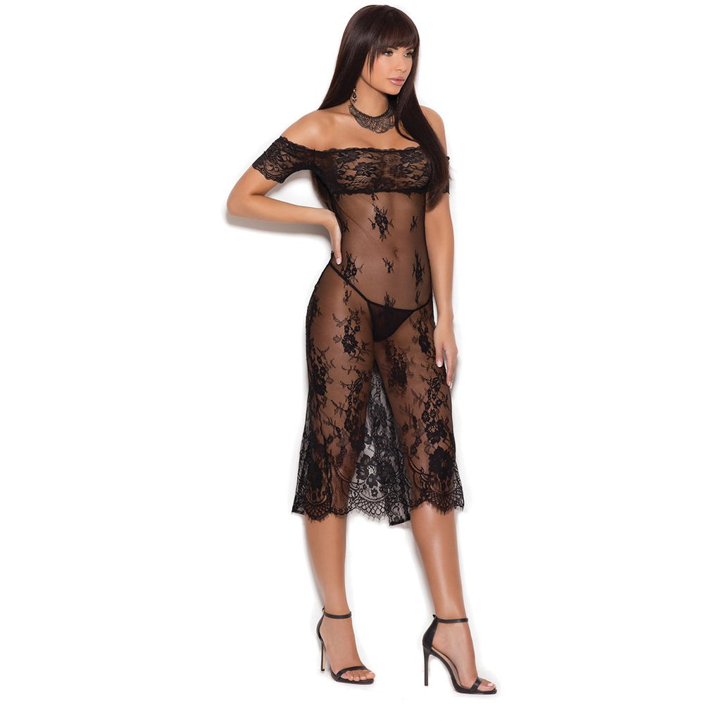 Lace Night Gown