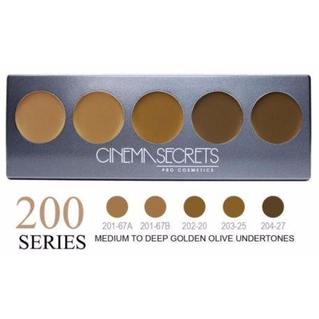 Cinema Secrets Ultimate Foundation 5-IN-1 PRO Palette, 200