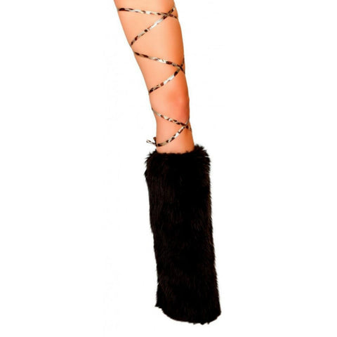 "100"" Printed Thigh Wraps Brown Leopard - Charmed Costumes"