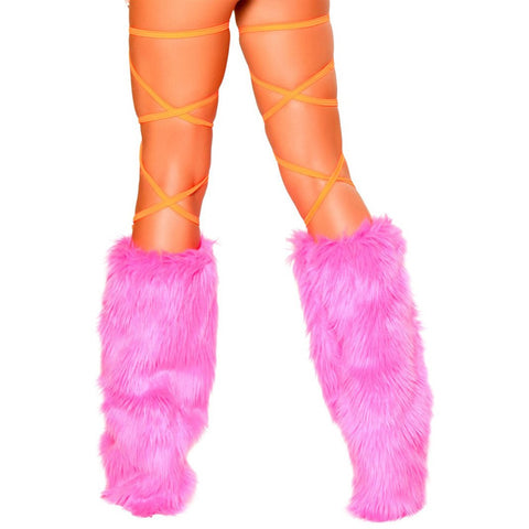 "100"" Solid Thigh Wraps Orange - Charmed Costumes"