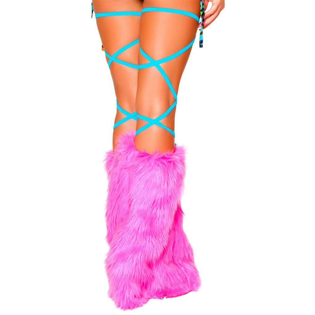 "100"" Solid Thigh Wraps Turquoise - Charmed Costumes"