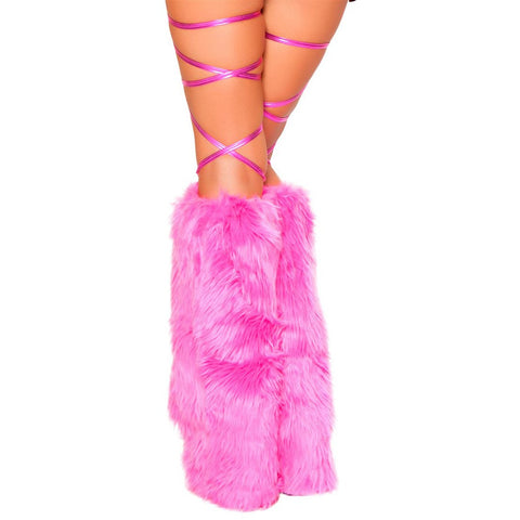 "100"" Metallic Thigh Wraps Pink - Charmed Costumes"