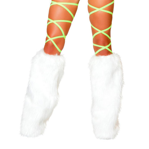 "100"" Shiny Dot Thigh Wraps Yellow - Charmed Costumes"