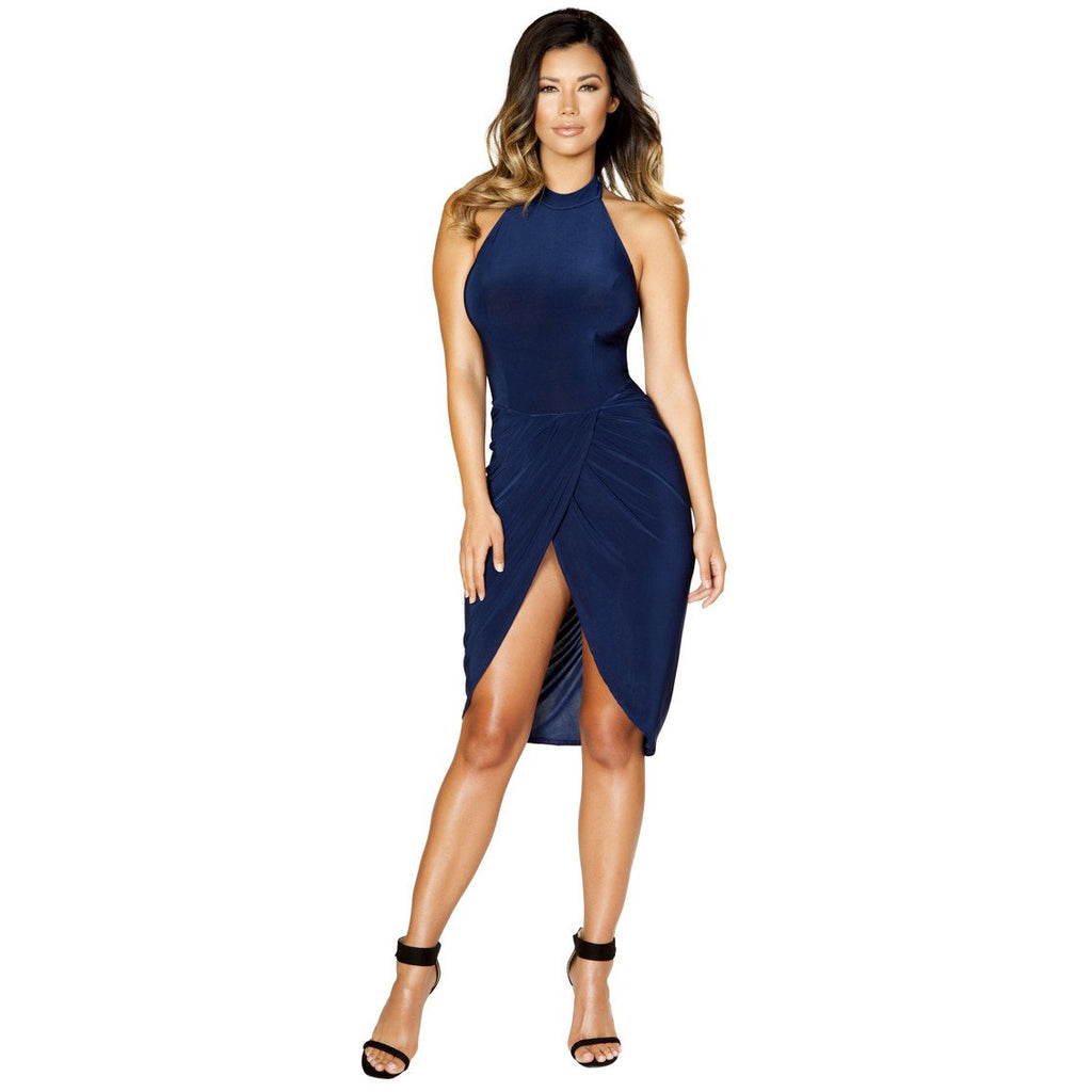 Sexy Navy Cocktail Dress