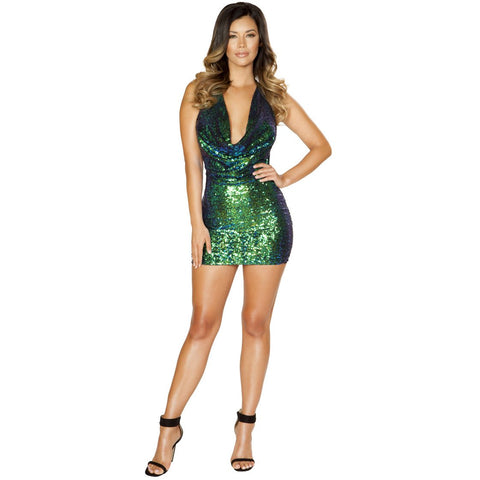 Sexy Sequin Mini Club Dress