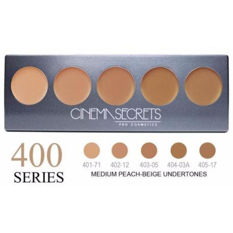 Cinema Secrets Ultimate Foundation 5-IN-1 PRO Palette, 400