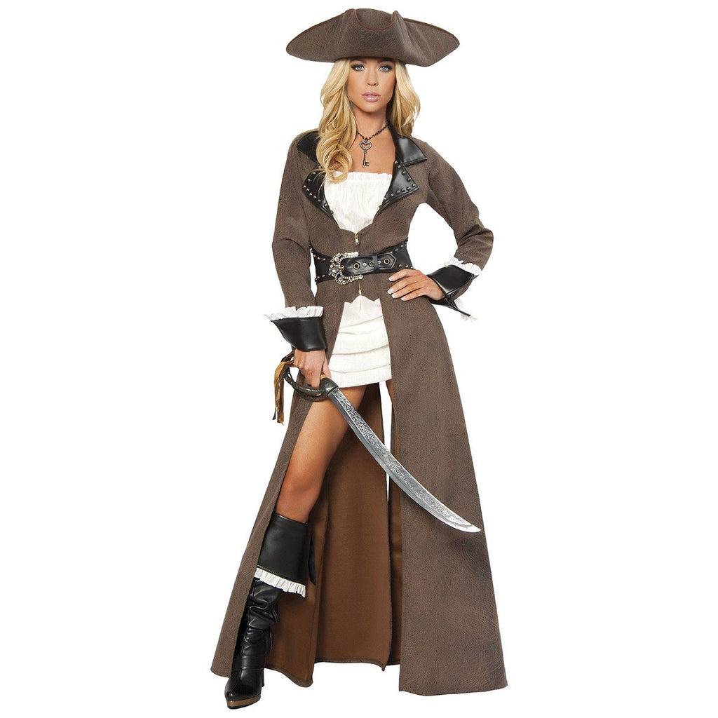Deluxe Pirate Captain - Charmed Costumes