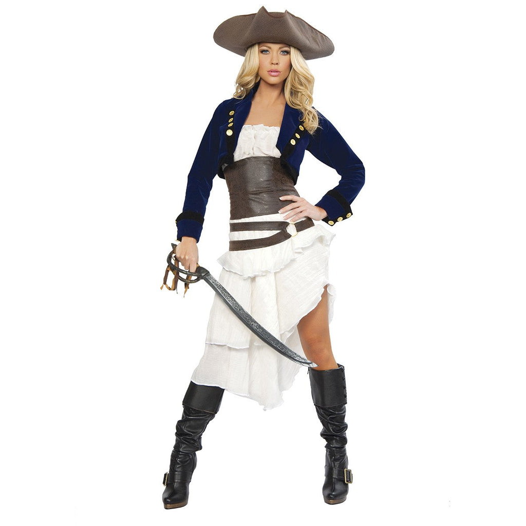 Deluxe Colonial Pirate - Charmed Costumes