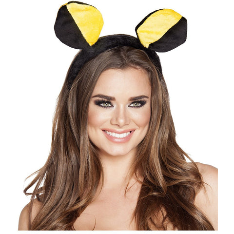 Yellow/Black Bumble Bee Head Piece- As - Charmed Costumes