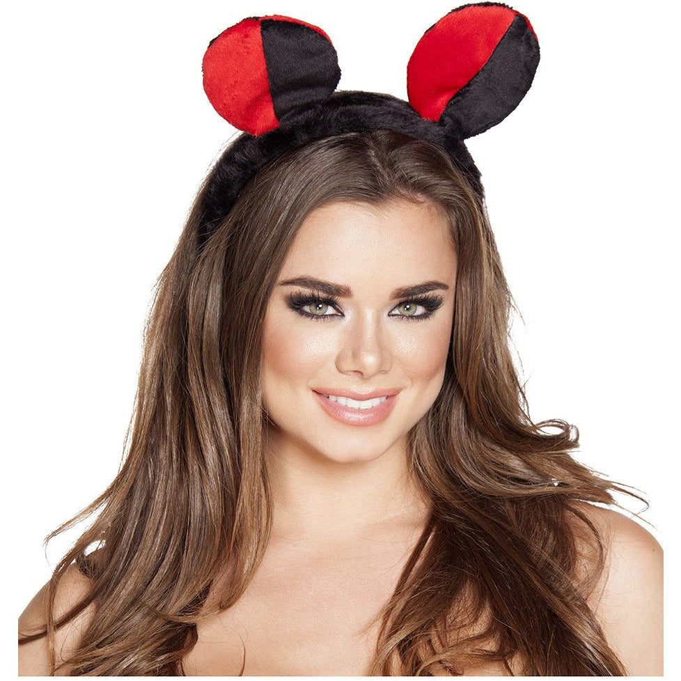 Red/Black Lady Bug Head Piece - Charmed Costumes