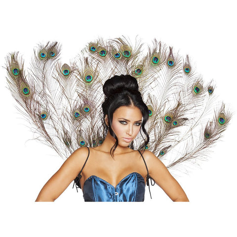 Peacock Tail Feather - Charmed Costumes