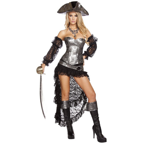 Deadly Pirate Captain - Charmed Costumes