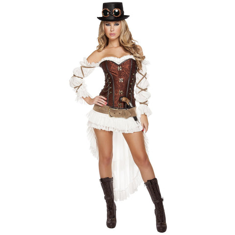 Sexy Steampunk Babe - Charmed Costumes