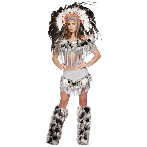 Lusty Indian Maiden - Charmed Costumes