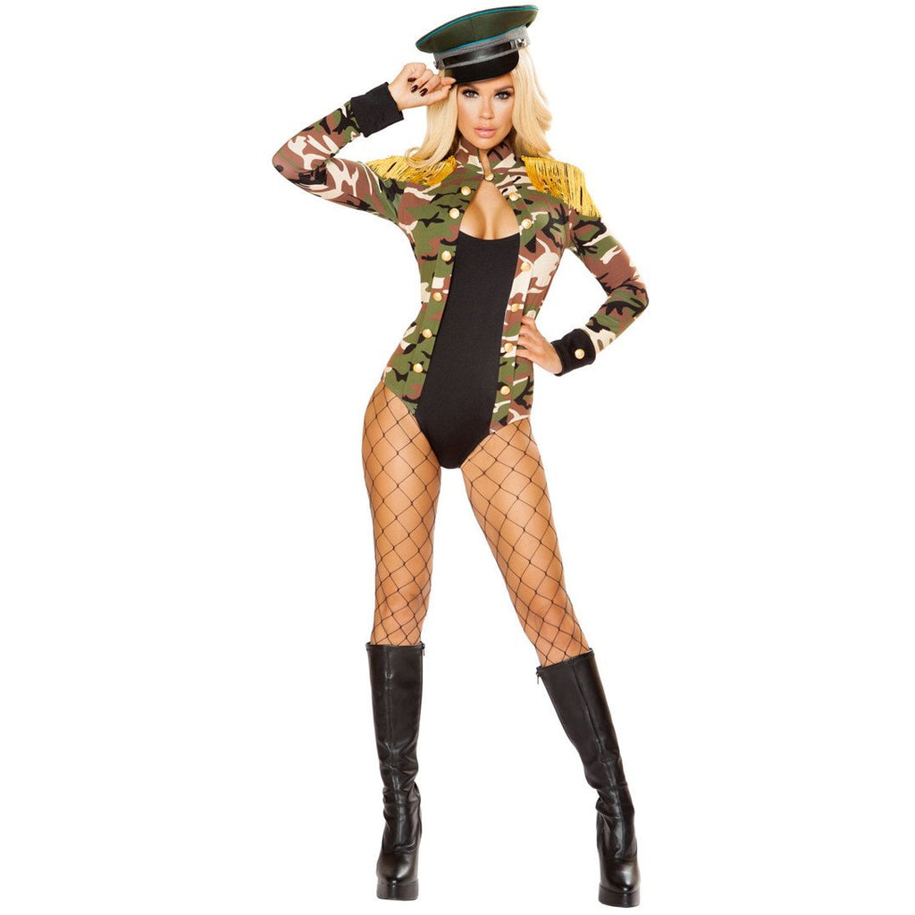 Sexy Army Military Women's Costume