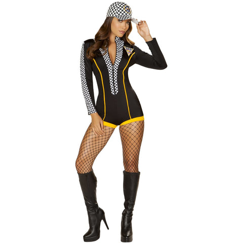 1pc Race Car Driver Diva Nascar Costume Car Racer