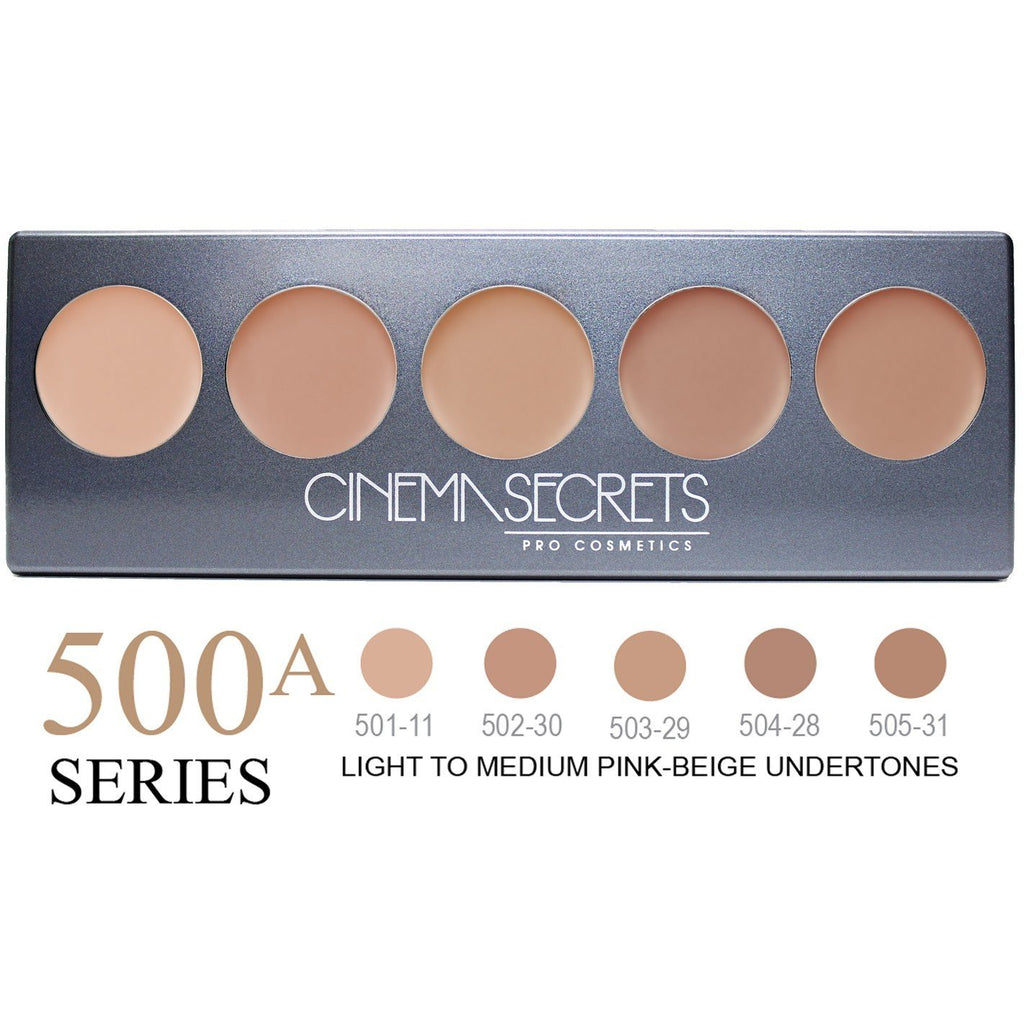 Cinema Secrets Foundation Palette 500A