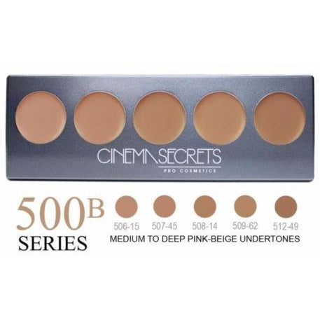 Cinema Secrets Ultimate Foundation 5-IN-1 PRO Palette, 500B