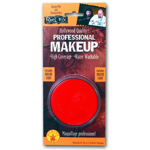 Fx Large Round Makeup - Red