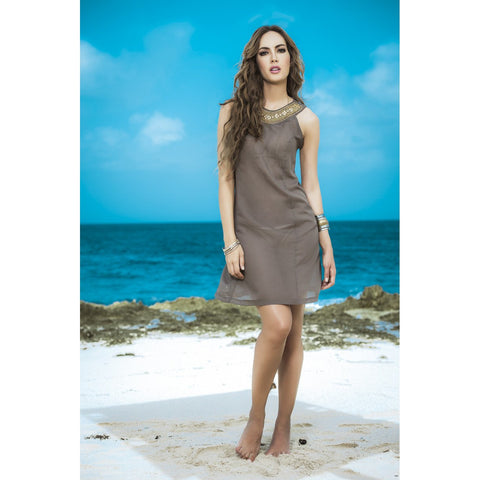 Sheer Cover-up / Beach Dress - Moccha - Charmed Costumes