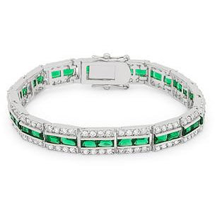 Emerald Tennis Bracelet - Charmed Costumes
