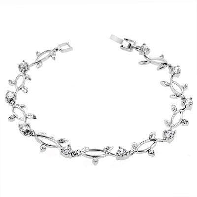 Nathan's Vine Cubic Zirconia Bracelet - Charmed Costumes