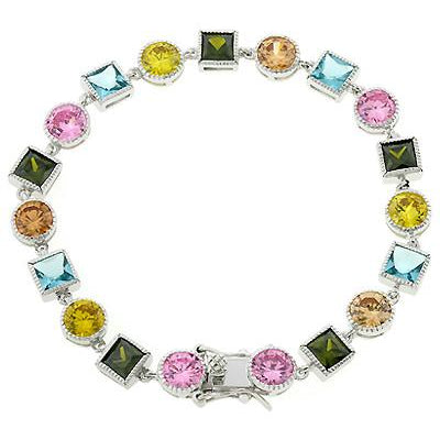 Spring Fling Cubic Zirconia Bracelet - Charmed Costumes