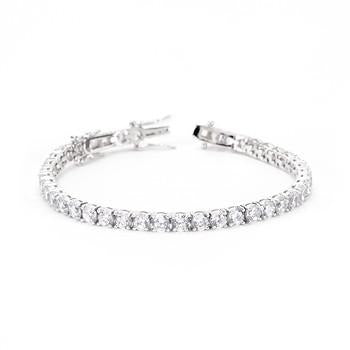 Clear Cubic Zirconia Tennis Bracelet - Charmed Costumes