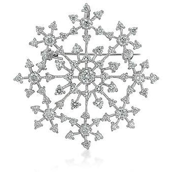 Delicate Snowflake Brooch - Charmed Costumes