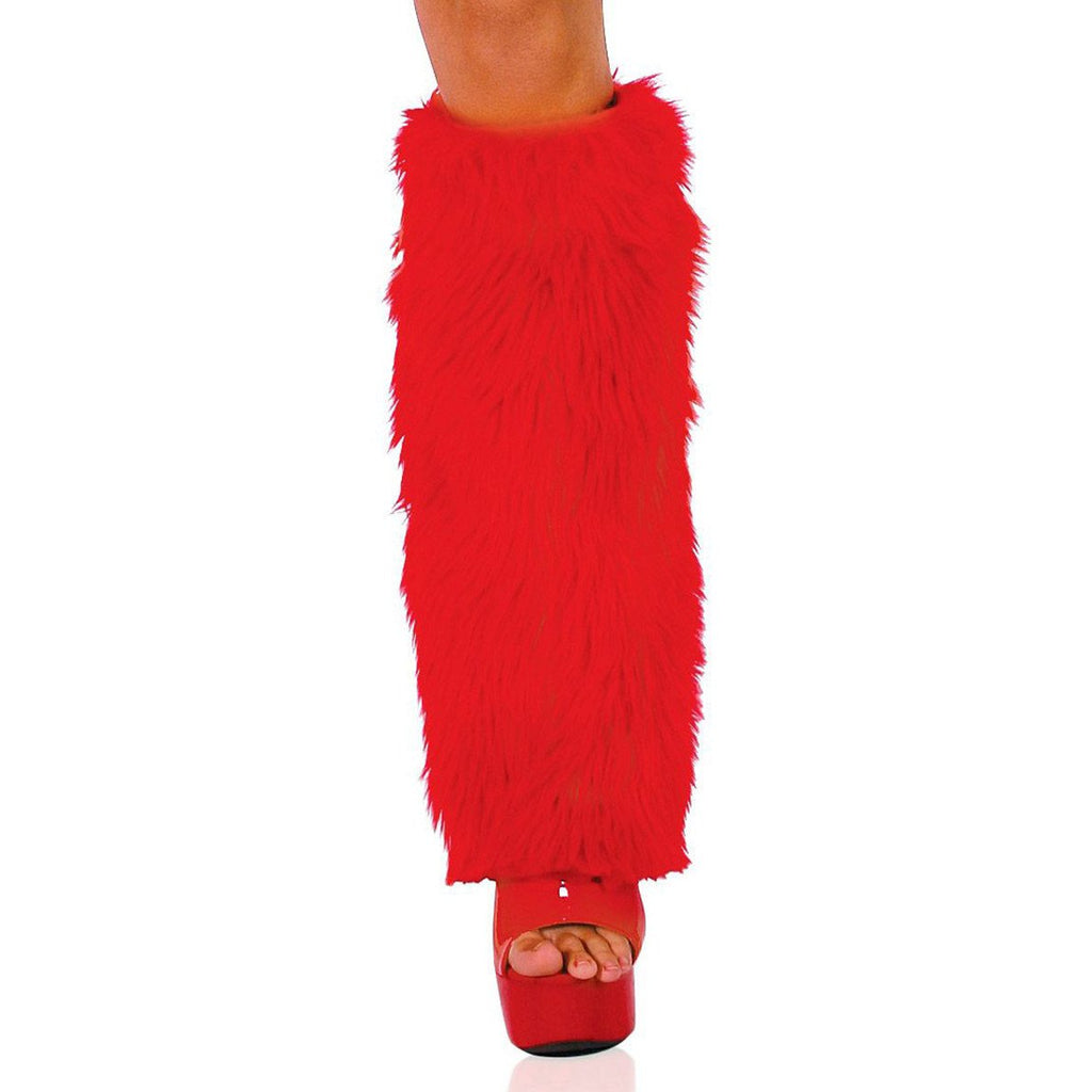 Fur Leg Warmers - Charmed Costumes