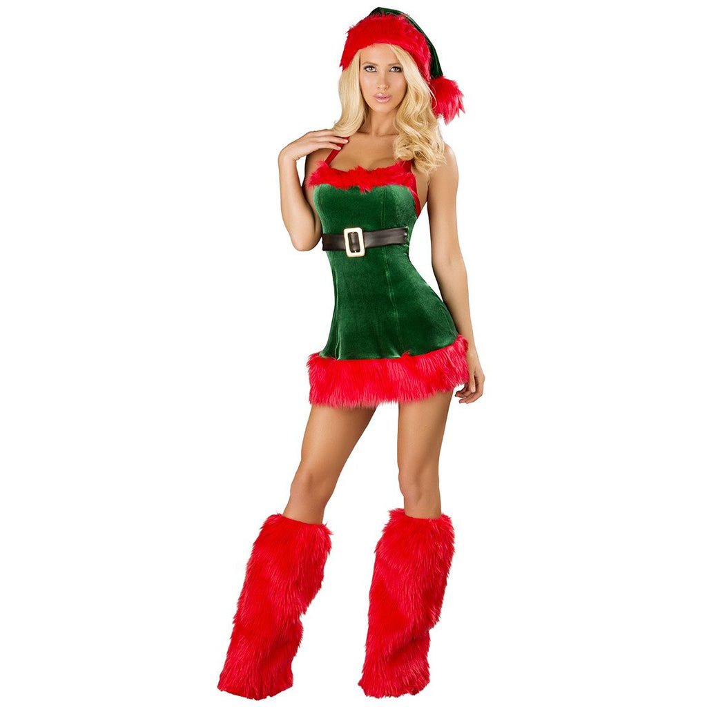 Santa's Envy Sexy Elf Costume