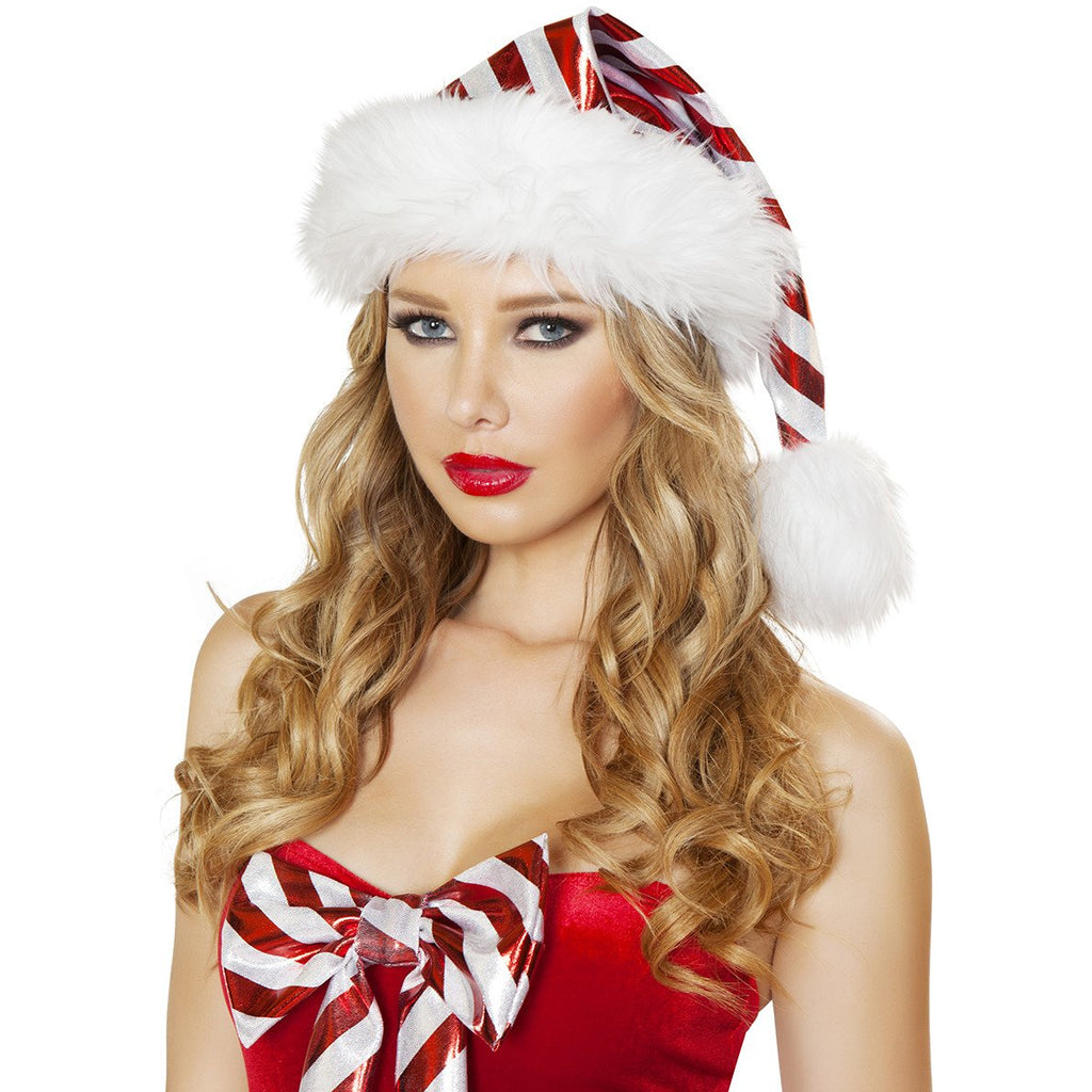 Striped Christmas Hat - Charmed Costumes