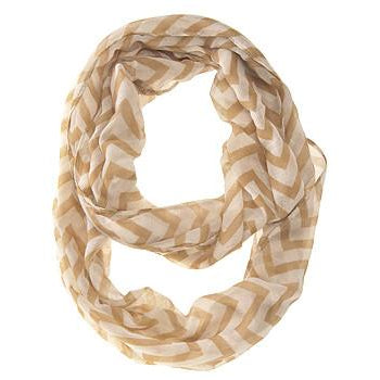 Zig Zag Camel Infinity Scarf - Charmed Costumes