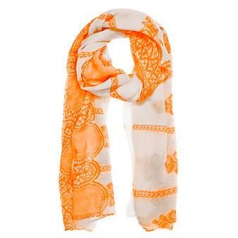 Tina Scarf in Orange - Charmed Costumes