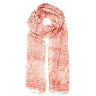 Michelle Scarf in Peach - Charmed Costumes