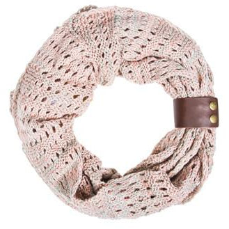 Pink Jenna Knit Scowl Scarf - Charmed Costumes