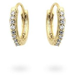 Classic Petite Hoop Earrings Goldtone Finish - Charmed Costumes