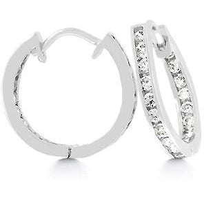 19 mm Inside Out Hoop Earrings - Charmed Costumes