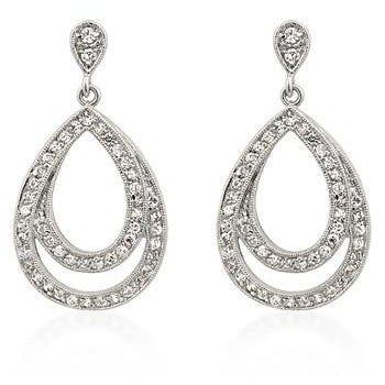 Evening Drop Earrings - Charmed Costumes