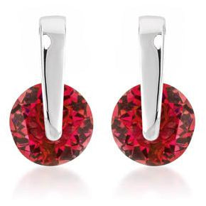Red CZ Elegance Earrings - Charmed Costumes