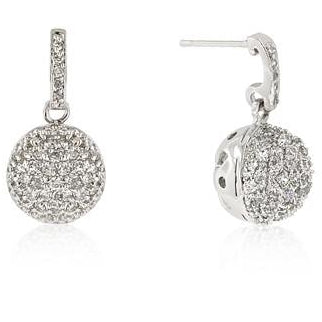 CZ Ball Dangle Earrings - Charmed Costumes