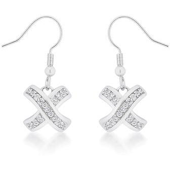 Timeless Pave Drop Earrings - Charmed Costumes