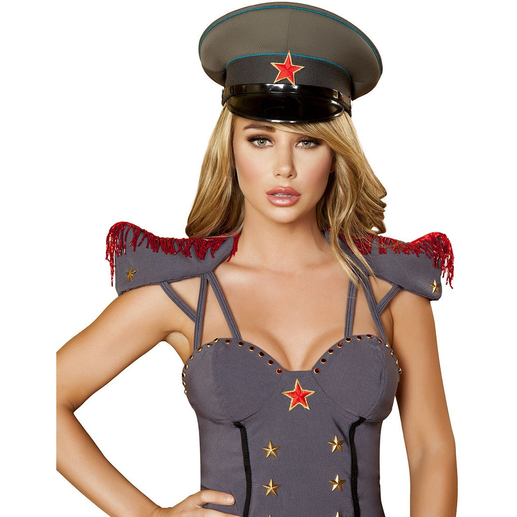 Military Hat - Charmed Costumes