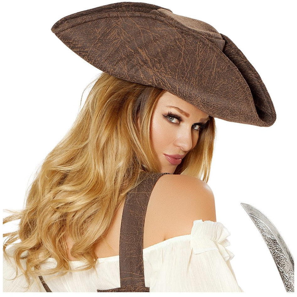 Beautiful Pirate Maiden Hat - Charmed Costumes