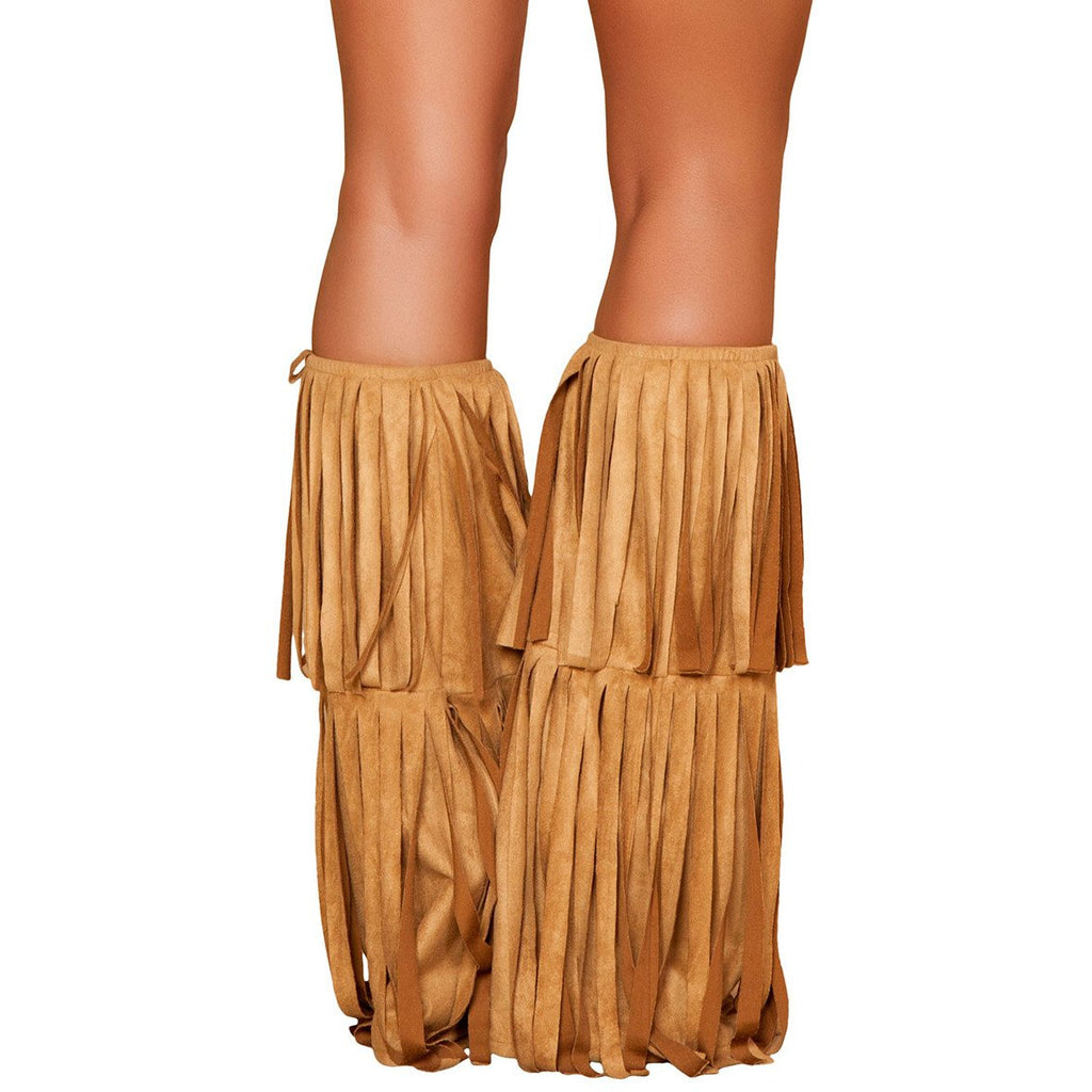 Fringed Leg Warmer - Charmed Costumes